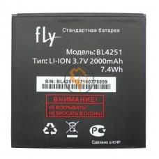 Оригинальная аккумуляторная батарея Fly IQ450 BL4251 2000mAh