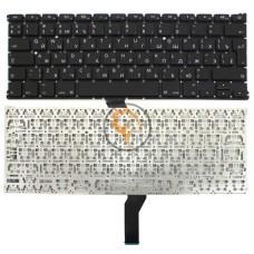 Клавиатура для ноутбука Apple MacBook Air 13 A1369 A1466 вертикальный enter, без подсветки, черная RU