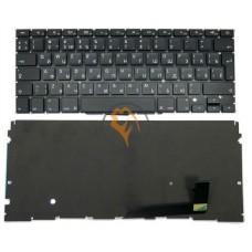 Клавиатура для ноутбука Apple MacBook Pro A1398 вертикальный enter, с подсветкой, черная RU