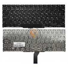 Клавиатура для ноутбука Apple MacBook Air 11 A1370 A1465 горизонтальный enter, без подсветки, черная RU