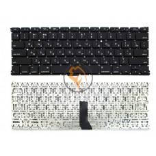 Клавиатура для ноутбука Apple MacBook Air 13 A1369 A1466 горизонтальный enter, без подсветки, черная RU