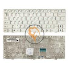 Клавиатура для ноутбука Asus EEE PC 1000H белая рамка, белая RU