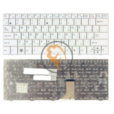 Клавиатура для ноутбука Asus EEE PC 1001HA белая RU