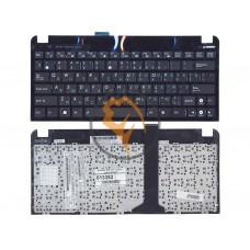 Клавиатура для ноутбука Asus EEE PC 1015 черная рамка, черная RU
