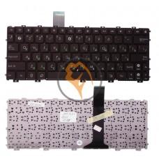 Клавиатура для ноутбука Asus EEE PC 1015 без рамки, Brown RU