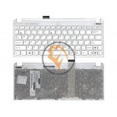 Клавиатура для ноутбука Asus EEE PC 1015 белая рамка, белая RU