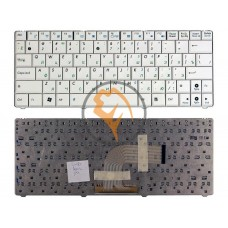 Клавиатура для ноутбука Asus EEE PC 1101 белая RU