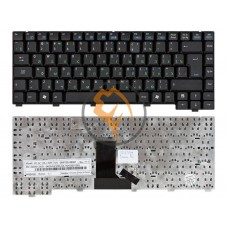 Клавиатура для ноутбука Asus EEE PC A6 вертикальный enter, черная RU