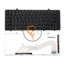 Клавиатура для ноутбука Dell Alienware M11X-R1 с подсветкой, черная RU