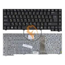 Клавиатура для ноутбука Fujitsu Amilo D1840 D1845 A1630 вертикальный enter, черная RU