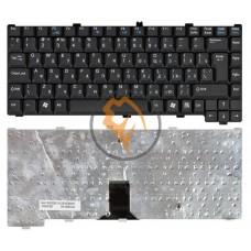 Клавиатура для ноутбука Fujitsu Amilo M7440 M7440G M6100 вертикальный enter, черная RU