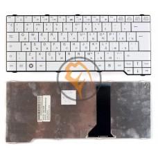 Клавиатура для ноутбука Fujitsu Amilo SA3650 вертикальный enter, белая RU