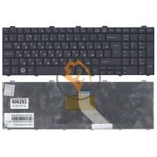 Клавиатура для ноутбука Fujitsu LifeBook AH530 AH531 NH751 вертикальный enter, черная RU