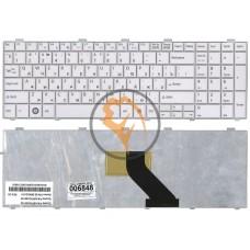 Клавиатура для ноутбука Fujitsu LifeBook AH530 AH531 NH751 белая RU