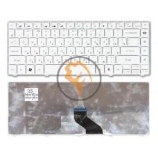Клавиатура для ноутбука Gateway NV49C белая RU