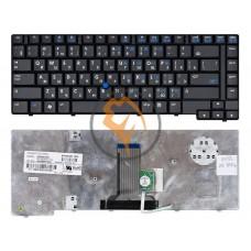 Клавиатура для ноутбука HP Compaq 8510P с указателем Point Stick, черная RU