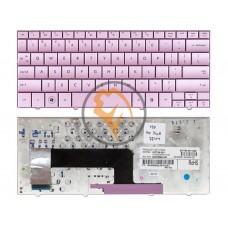 Клавиатура для ноутбука HP Compaq Mini 110 розовая RU