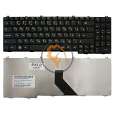 Клавиатура для ноутбука Lenovo G550 черная RU