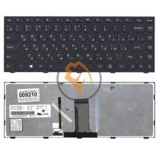 Клавиатура для ноутбука Lenovo Flex 14 G40-30 с подсветкой, черная RU