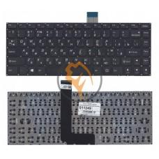 Клавиатура для ноутбука Lenovo IdeaPad B490S без рамки, черная RU