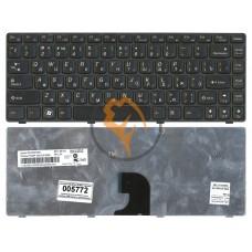 Клавиатура для ноутбука Lenovo IdeaPad G360 черная рамка, черная RU