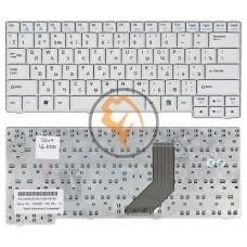 Клавиатура для ноутбука LG E200 E210 E300 E310 ED310 белая RU