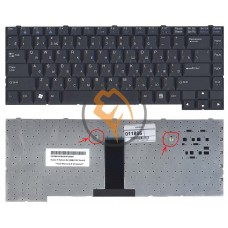 Клавиатура для ноутбука LG LE50 черная RU