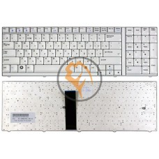 Клавиатура для ноутбука LG S900 белая рамка, белая RU