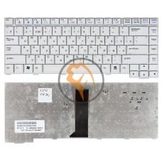 Клавиатура для ноутбука LG W4 M1 белая RU