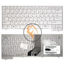 Клавиатура для ноутбука LG X110 X120 белая RU