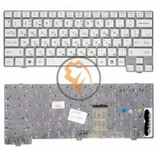 Клавиатура для ноутбука LG X170 белая рамка, белая RU