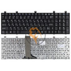 Клавиатура для ноутбука MSI CR500 CR600 CX500 CX600 CX700 черная RU