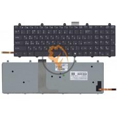 Клавиатура для ноутбука MSI GE60 GE70 с подсветкой, без рамки, черная RU