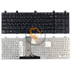 Клавиатура для ноутбука MSI MS 1675 черная RU