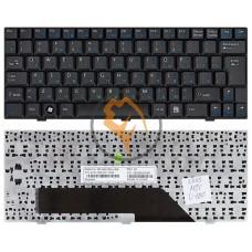 Клавиатура для ноутбука MSI Wind U100 черная RU