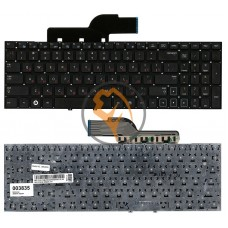Клавиатура для ноутбука Samsung 300E5A 300V5A 305V5A 305E5 без рамки, черная RU