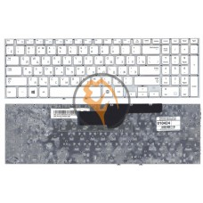 Клавиатура для ноутбука Samsung 355V5C 350V5C NP355V5C NP355V5C-A01 без рамки, белая RU