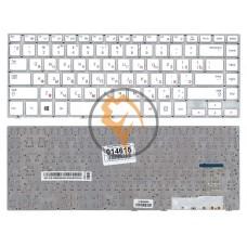 Клавиатура для ноутбука Samsung 470R4E BA59-03680A без рамки, белая RU