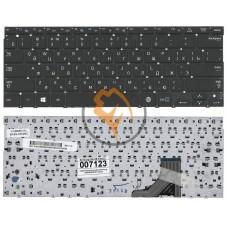 Клавиатура для ноутбука Samsung 530U3B 530U3C без рамки, черная RU