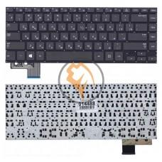Клавиатура для ноутбука Samsung 535U4С 530U4C 530U4B без рамки, черная RU
