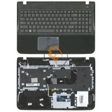 Клавиатура для ноутбука Sony SF510 черная с топ панелью, черная RU