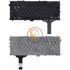 Клавиатура для ноутбука Sony SVP13 без рамки, черная RU
