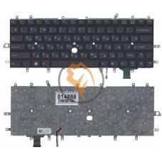 Клавиатура для ноутбука Sony Vaio SVD11 с подсветкой, без рамки, черная RU