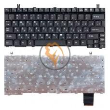 Клавиатура для ноутбука Toshiba Portege P2000 черная RU