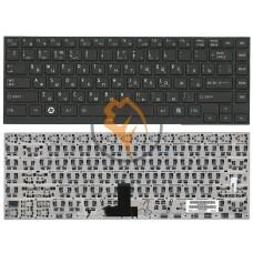 Клавиатура для ноутбука Toshiba Portege R700 R705 R830 черная рамка, черная RU
