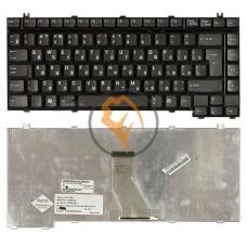 Клавиатура для ноутбука Toshiba Satellite A100 вертикальный enter, черная RU