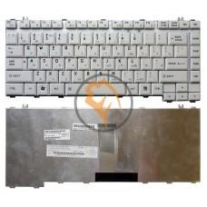 Клавиатура для ноутбука Toshiba Satellite A200 A205 A210 M200 белая RU