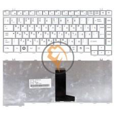 Клавиатура для ноутбука Toshiba Satellite A200 A210 M300 вертикальный enter, серебристая RU