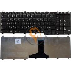 Клавиатура для ноутбука Toshiba Satellite C650 C655 C660 C670 L650 черная RU