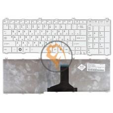 Клавиатура для ноутбука Toshiba Satellite C650 C655 C660 C670 L650 белая RU